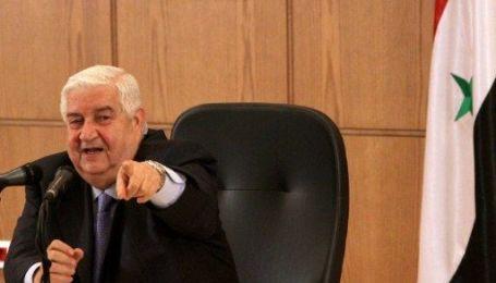 Умер глава МИД Сирии Валид Муаллем