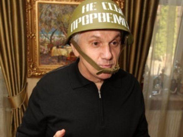 Володимир Литвин на дачі у Конча-Заспі_1