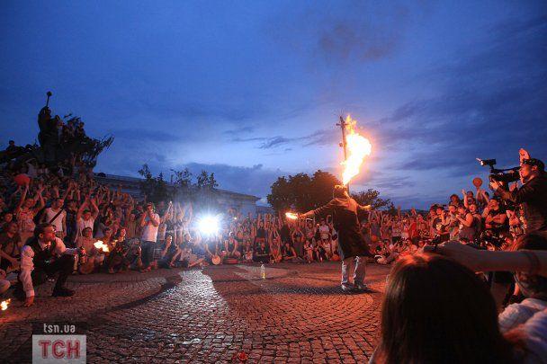 В Киеве начался юбилейный фестиваль огня Kiev FIRE Fest 2011