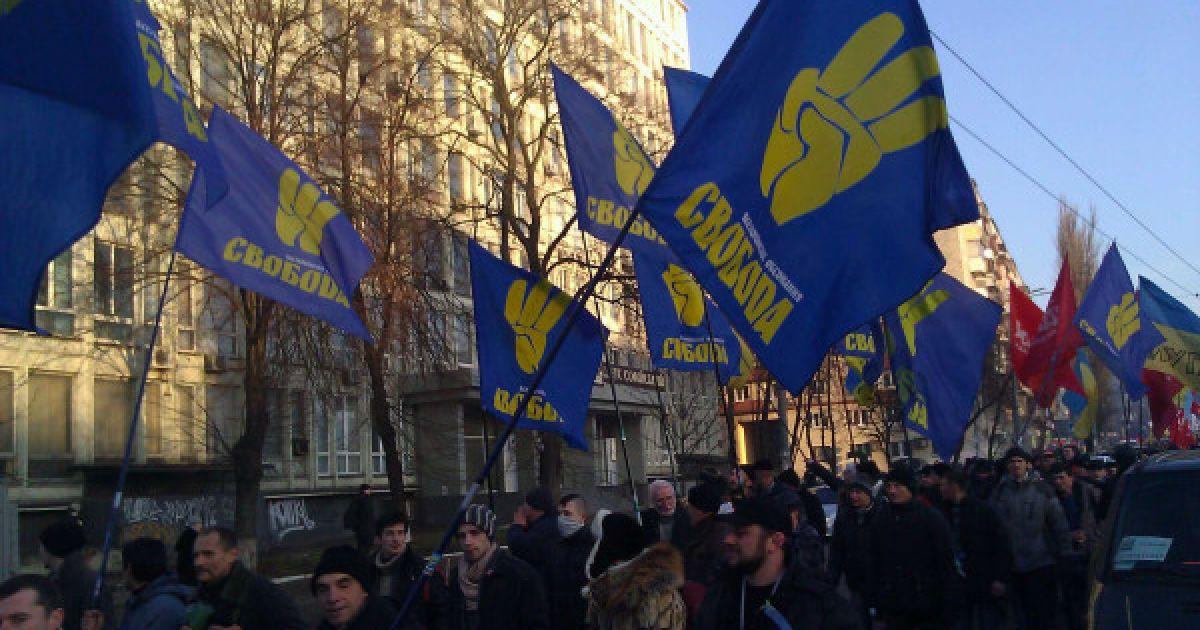 Оппозиция пикетировала заседания Киевского городского совета @ Youtube/Erich Hartmann