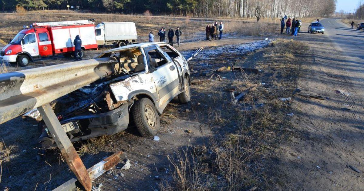 В страшном ДТП погибли четыре человека @ tree.biz.ua