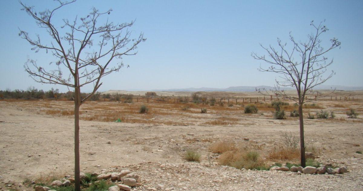 Краєвид на західному березі Йордану. Фото Дмитра Шаповалова @ ТСН.ua