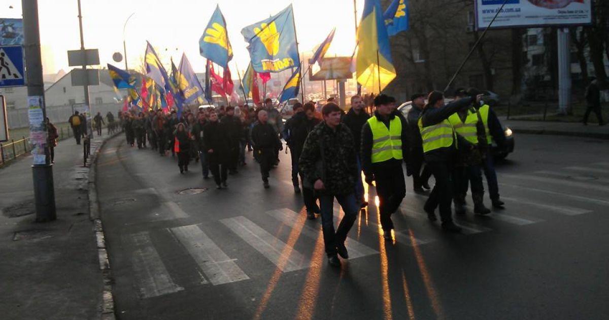 Оппозиция пикетировала заседания Киевского городского совета