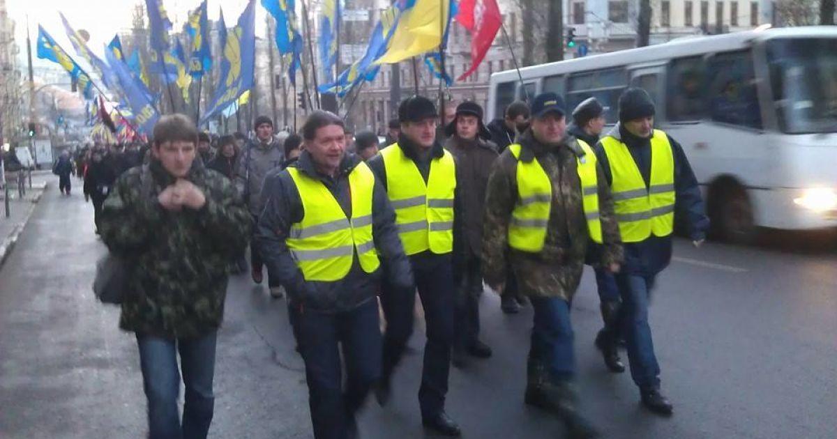 Оппозиция пикетировала заседания Киевского городского совета @ twitter.com/maxseddon