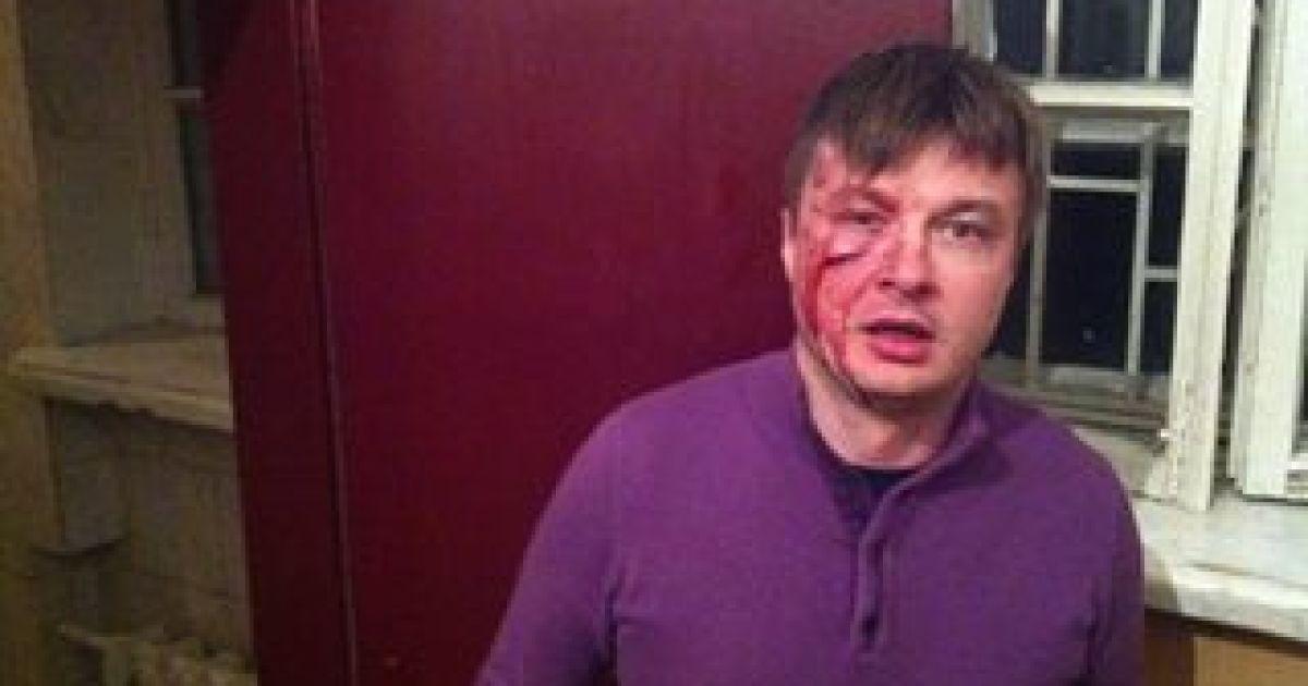 Нардепа та адвоката побили в центрі Києва @ facebook.com/andriy.illenko
