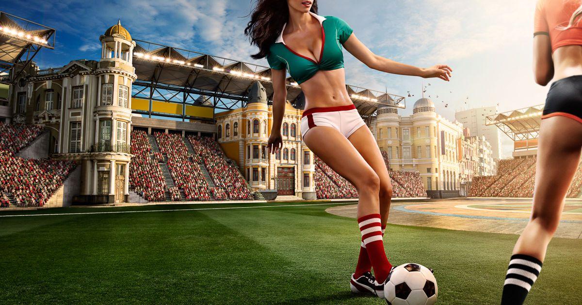 Блядь дрочит порнофильм к чемпионату мира по футболу секс