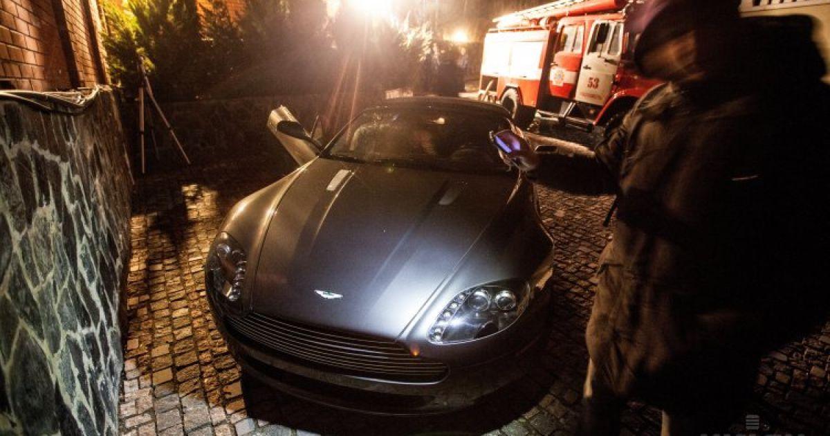 Дом сына Симоненко подожгли неизвестные @ УНІАН