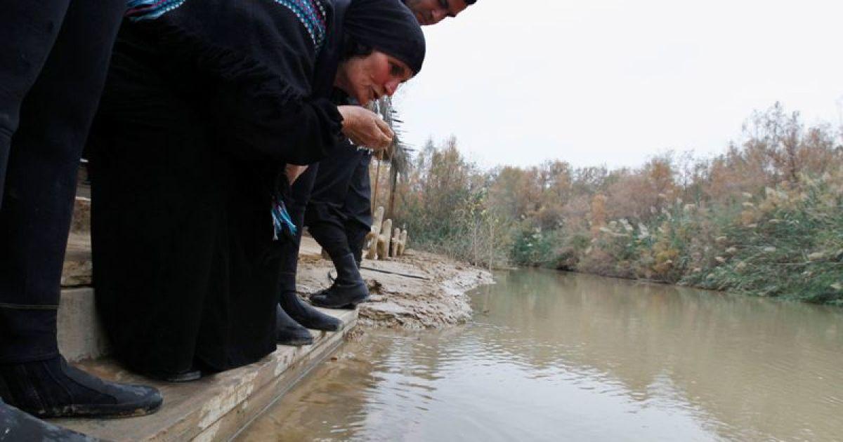 Святкування Хрещення Господнього на річці Йордан @ Reuters