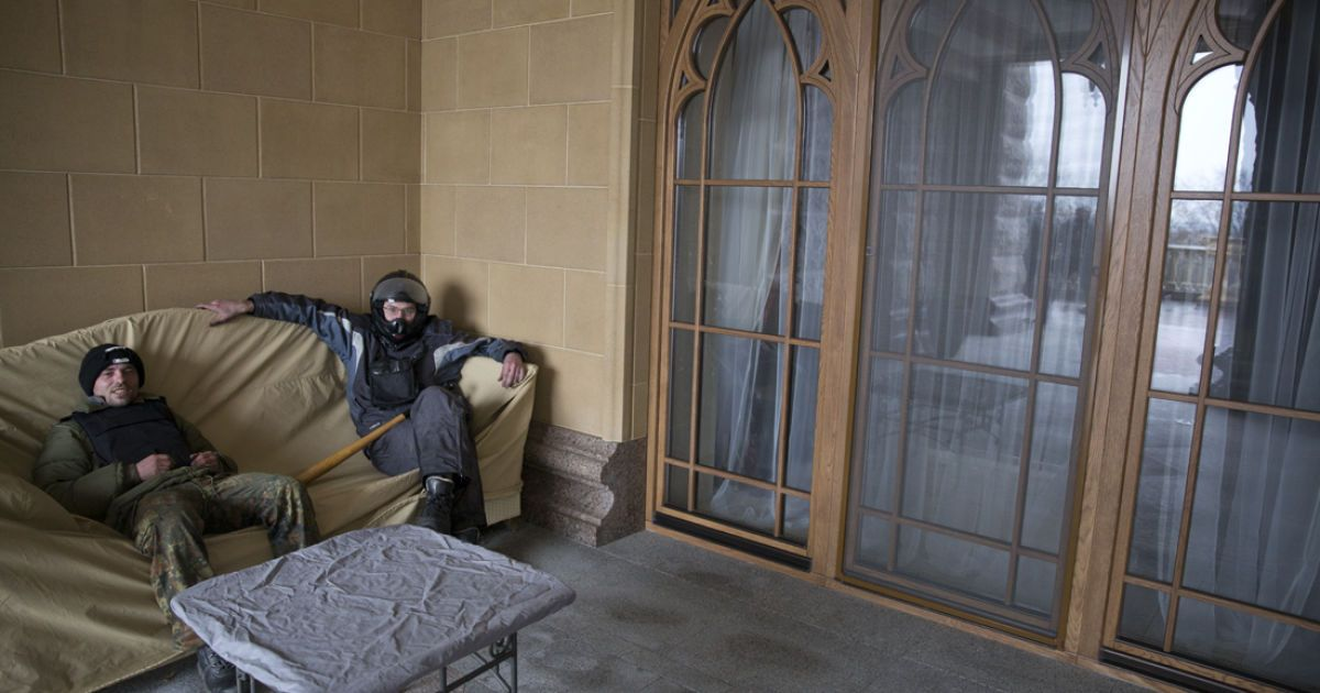 Межигорье поражает своим пафосом @ flickr.com/Александр Матвеев