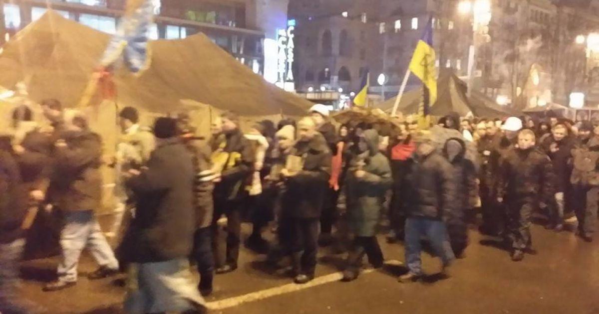 На Євромайдані панував піднесено-жартівливий настрій @ adme.ru