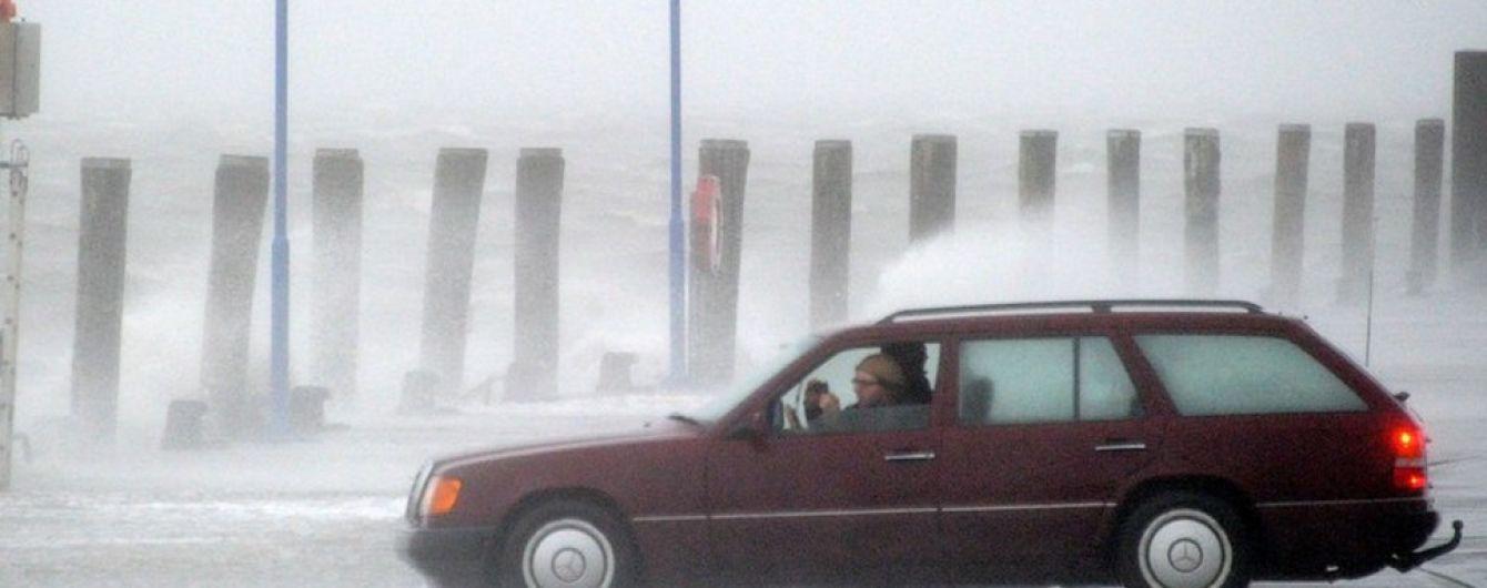 Сніжний циклон пішов з України