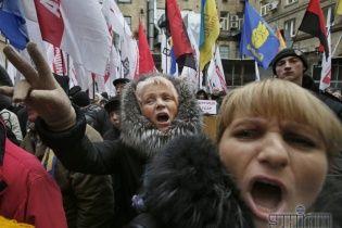 На Львівщині протестувальники захопили чергову райдержадміністрацію
