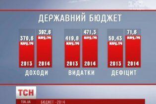 Деталі скандального бюджету-2014: збільшені видатки та дефіцит