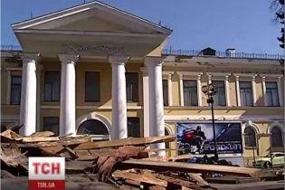 Киевский Октябрьский дворец оказался на грани банкротства