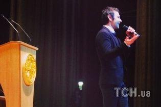 Вакарчук признался студентам Политеха, что подумывает стать президентом