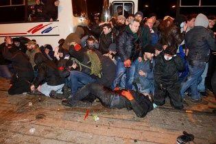 Під час мирного мітингу в Донецьку загинули 3 людини, півсотні постраждали
