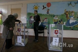 """У Севастополі на референдумі проголосували """"рекордні"""" 123% виборців"""
