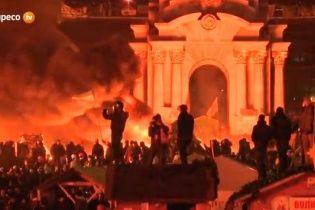 На Майдане выключили свет. Активисты ждут штурма