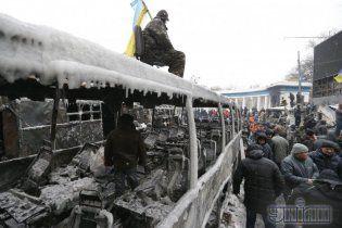 В КГГА опровергли информациию о гибели парня, который на Грушевского упал с колоннады