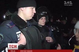 """В Одессе """"Беркут"""" вырвался из осады активистов Евромайдана"""