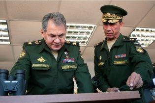Шойгу керує терористами на Донбасі та поставками зброї в Україну - МВС