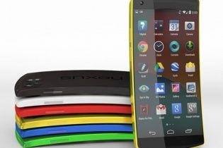 Випуск еталонного смартфона Nexus 6 довірили LG