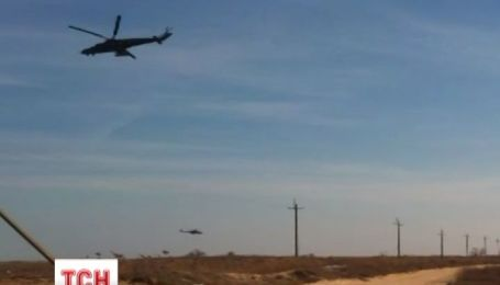120 российских десантников высадились на Арабатской стрелке