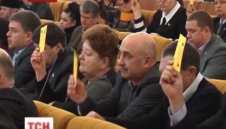 Депутаты николаевского облсовета требуют восстановить законность в столице