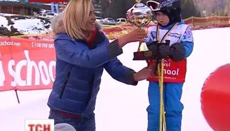На туристичному комплексі «Буковель» пройшли дитячі гірськолижні змагання