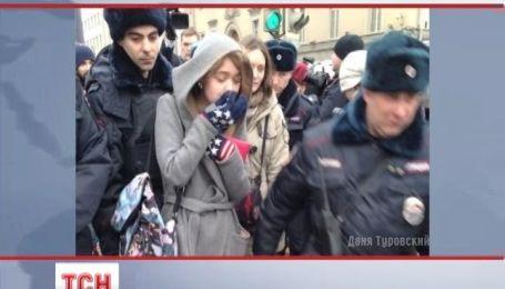 Москва влаштувала провладний мітинг у підтримку війни