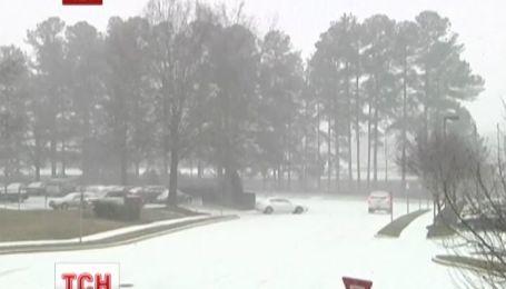 В США из-за сильных морозов и снегопадов погибли 11 человек