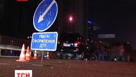 Дві великі аварії напередодні ввечері сталися на столичному проспекті Перемоги