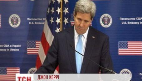 Госсекретарь США Керри пообещал Украине финансовую помощь в миллиард долларов