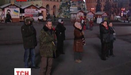 В поддержку депутатов на Майдане объявили мобилизацию