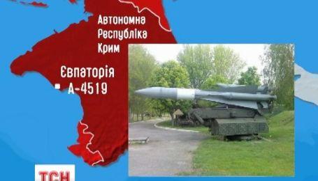 В Евпатории российский спецназ штурмует зенитно-ракетную часть А 4519