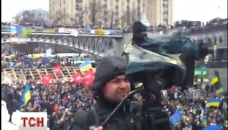 """""""Марш миллиона"""" хором невероятно спел гимн Украины"""