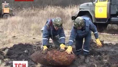 На Полтавщині дощі вимили 5 авіабомб часів Вітчизняної Війни