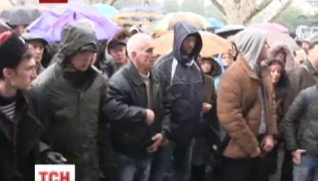 В Крыму держится напряженная обстановка