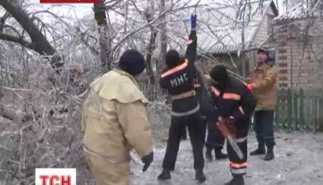 На Николаевщине из-за сильных осадков обесточены 138 населенных пунктов