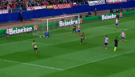 Атлетіко Мадрид - Мілан - 1:1. Відео голу Кака