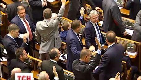 Депутаты оставили 3 из 12 принятых законов