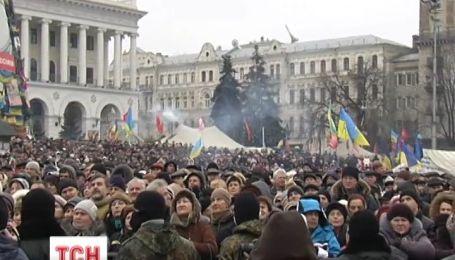 Активисты угрожают мирным наступлением