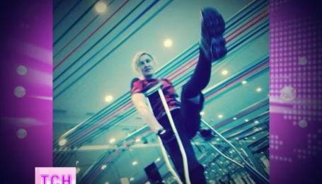 Мадонна повредила ногу и выложила фото в сеть