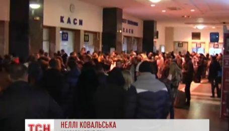 Люди не можуть виїхати з Києва