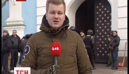 В импровизированный госпиталь превратился Михайловский Златоверхий собор