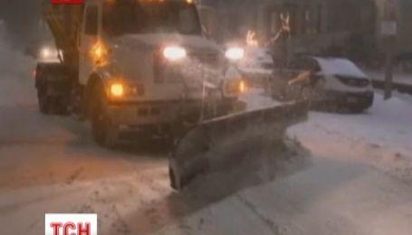 Потужна снігова буря вразила США