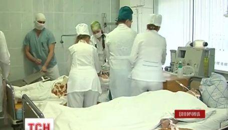 В Виннице развернули экстремальную мобильную больницу