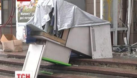 В Харькове воры взорвали, а затем обчистили банкомат