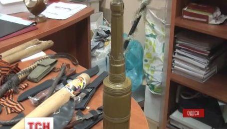 В Одессе нашли оружие и списки пророссийских активистов