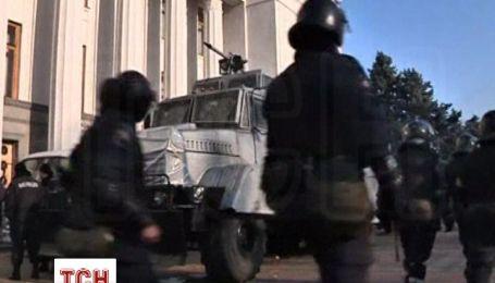 Депутаты собрались в Раде под усиленной охраной